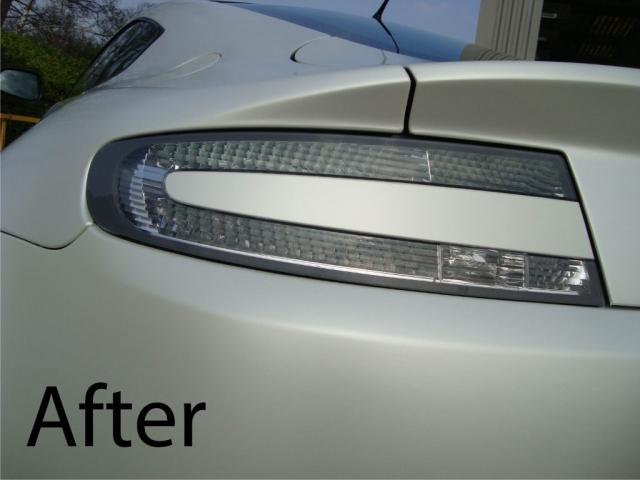 Aston Martin Car Wrap After