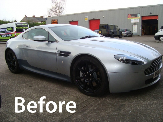 Aston Martin Car Wrap